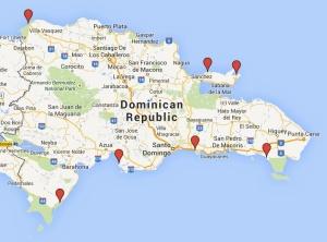mapa viveros RCDR